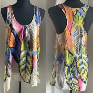 Tops - BoHo and Colorful, light, flowy. Size M